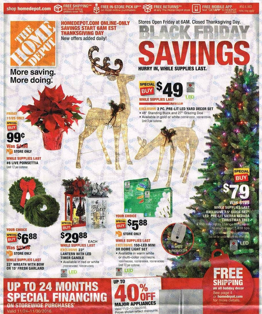 black friday 2017 home depot ad scan soldes en image. Black Bedroom Furniture Sets. Home Design Ideas