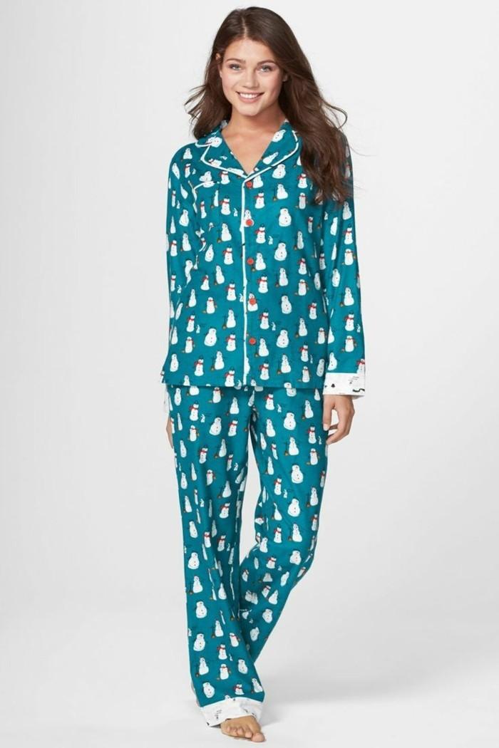 Pyjama chaud femme etam