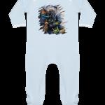 Bébé toujours en pyjama