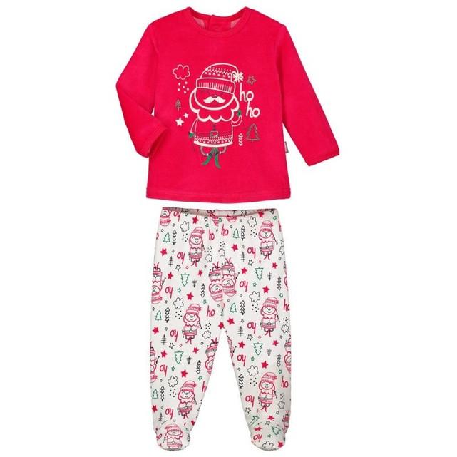 Pyjama bébé 2 pièces avec pieds