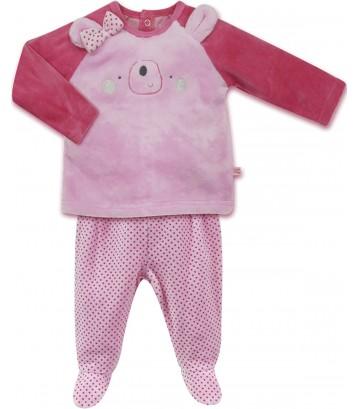 Pyjama 2 pièces bébé fille