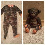 Patron pour faire un ourson avec un pyjama