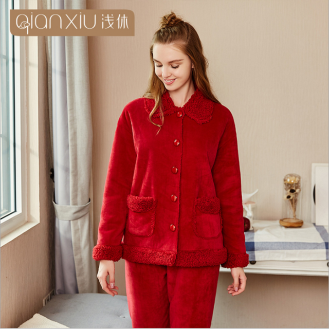 Pyjama femme luxe chaud