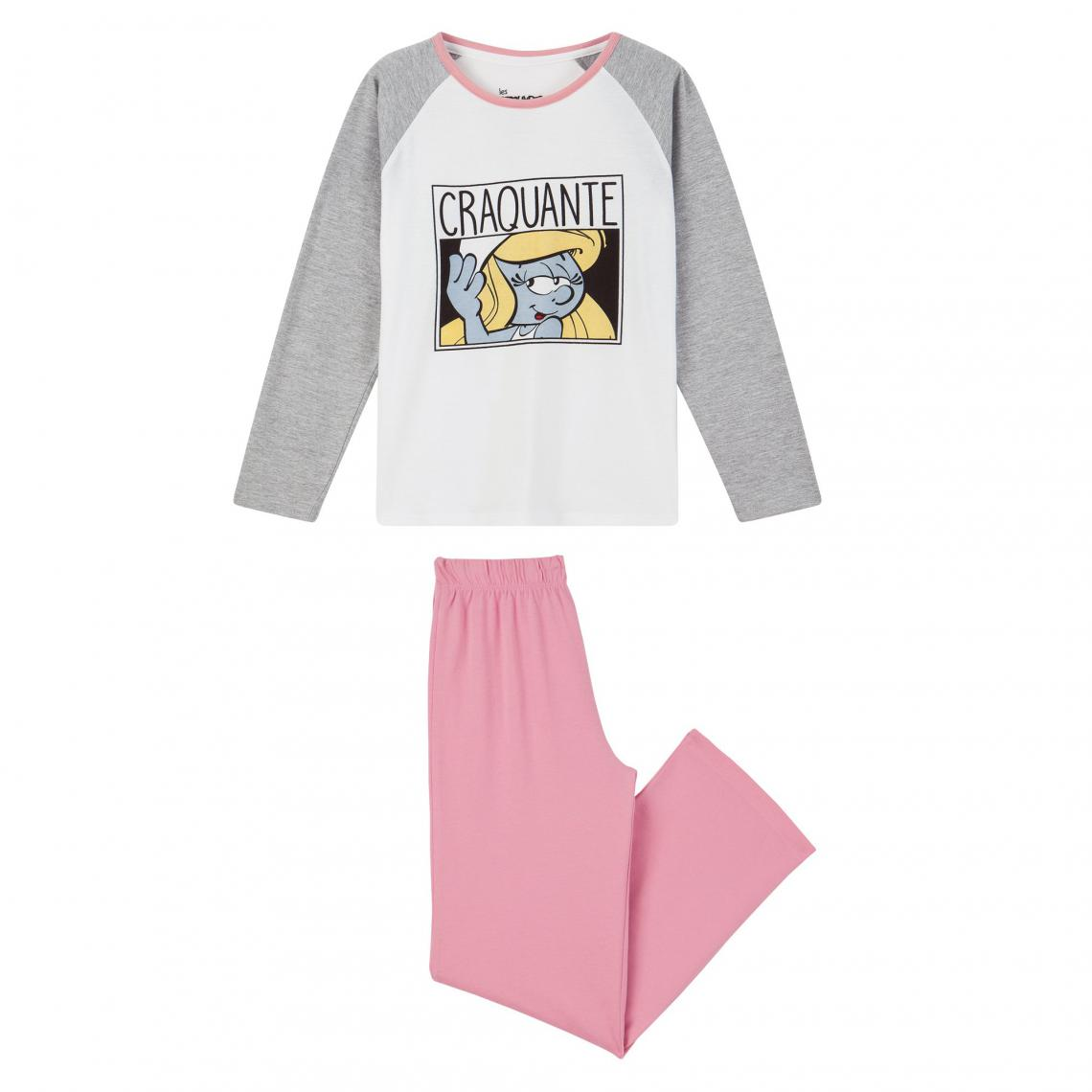 Pyjama schtroumpf femme
