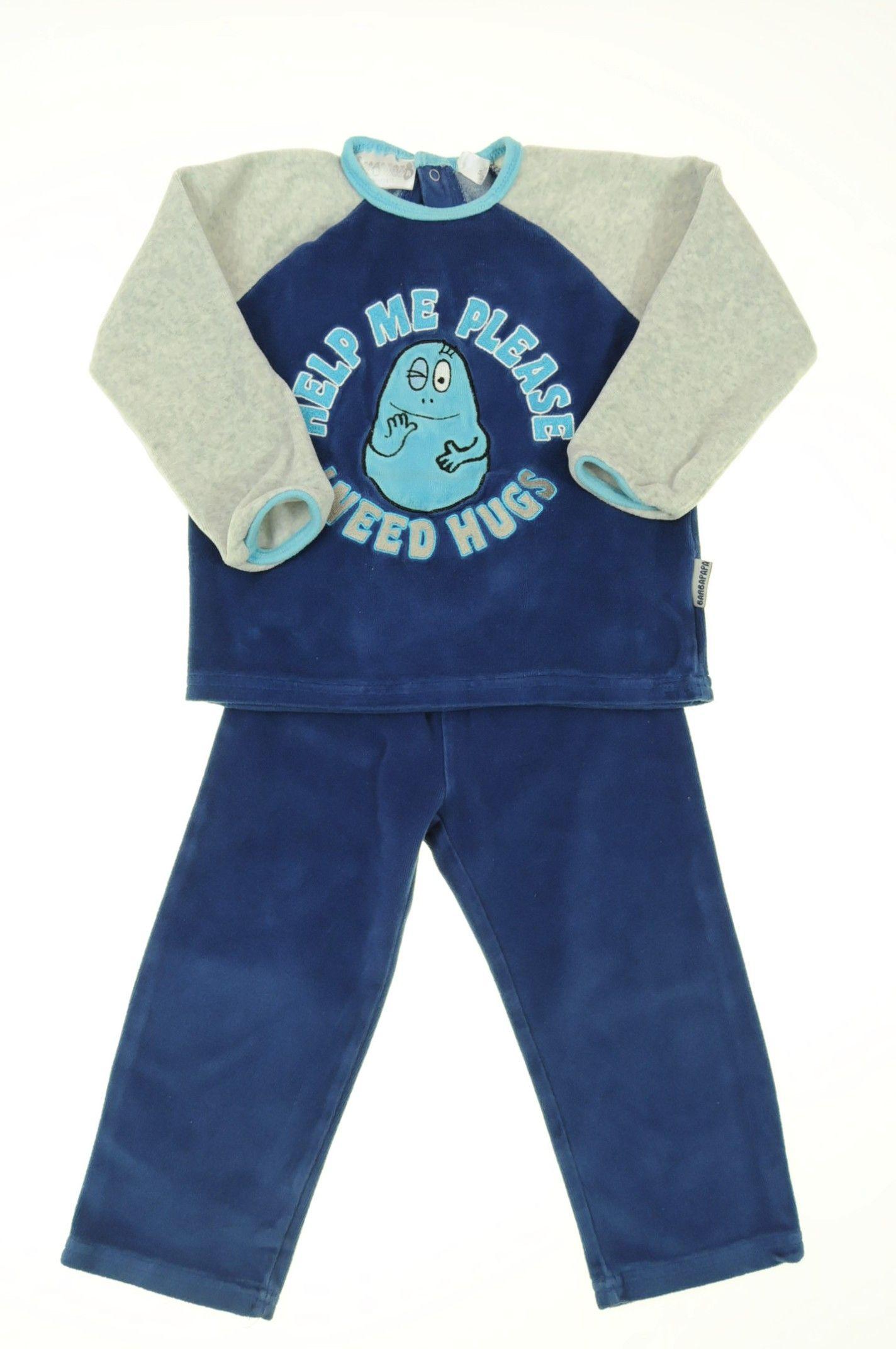 Pyjama éponge bébé