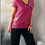 Pyjama short grande taille femme