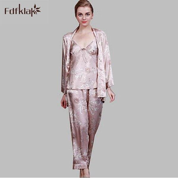 Pyjama 3 pièces femme