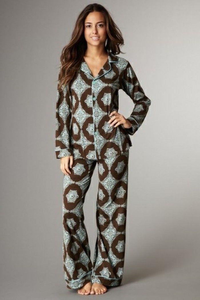 Pyjama en pilou pour femme