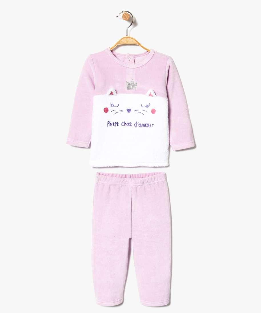 Pyjama bébé 2 pièces sans pied