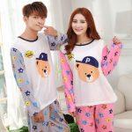Pyjama assortis couple