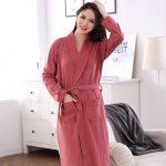 Pyjama kimono satin femme