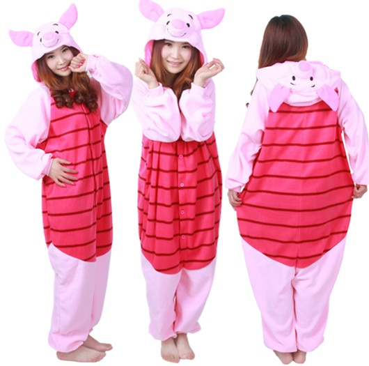 Combinaison pyjama porcinet