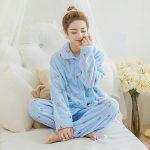 Pyjama chaud grande taille femme