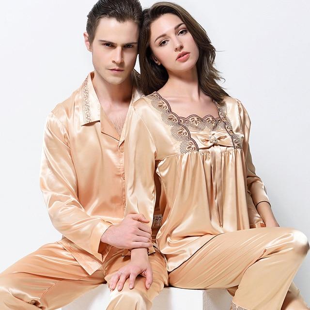 Pyjama homme satin soie