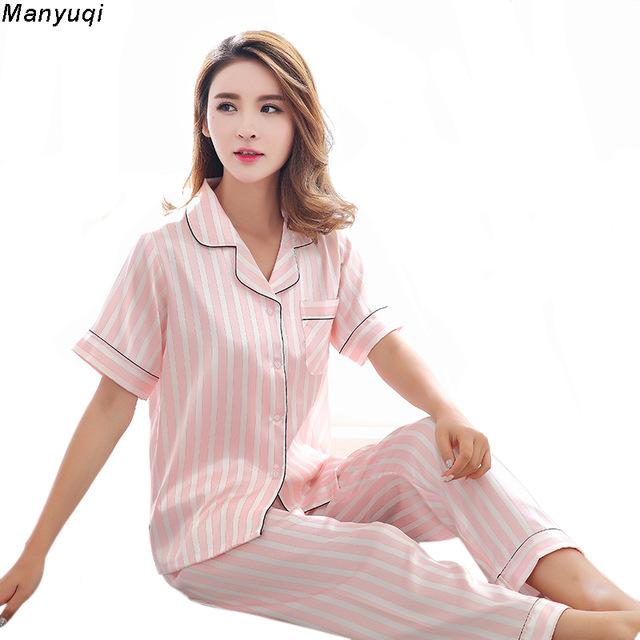 Pyjama femme manches courtes