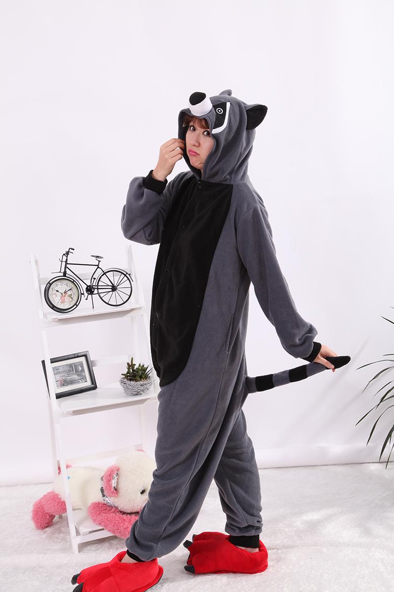 Pyjama raccoon