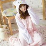 Pyjama doux et chaud femme