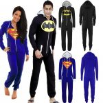 Pyjama combinaison homme superman
