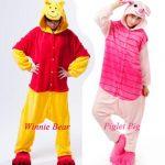 Combinaison pyjama winnie
