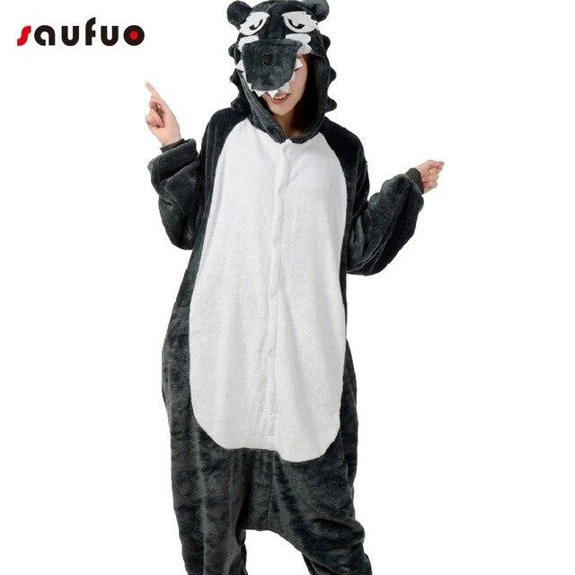 Pyjama loup femme