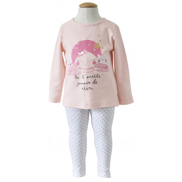 Pyjama fille 2 ans 2 pieces