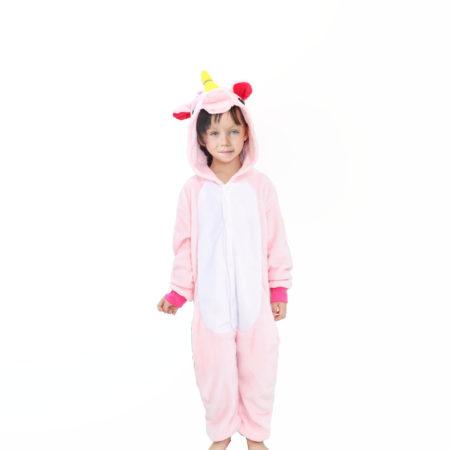 Pyjama en forme de licorne