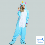 Pyjama licorne bleu pas cher