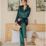 Pyjama satin pour femme