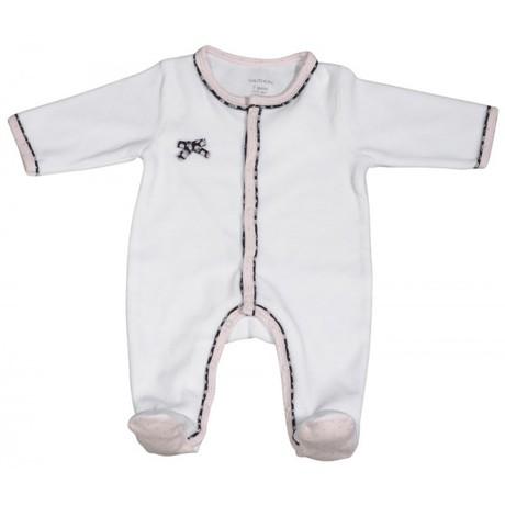 Pyjama naissance blanc