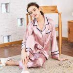 Pyjama femme soie luxe