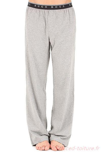 Pantalon pyjama homme noir