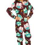 Pyjama grenouillère adulte fantaisie