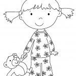 Mettre son pyjama dessin