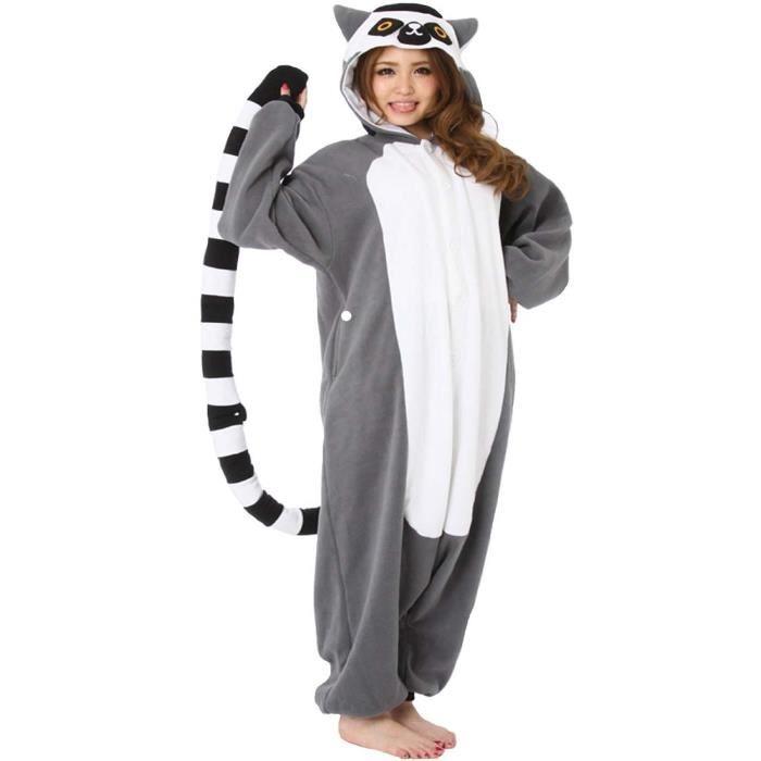 Pyjama combinaison ecureuil