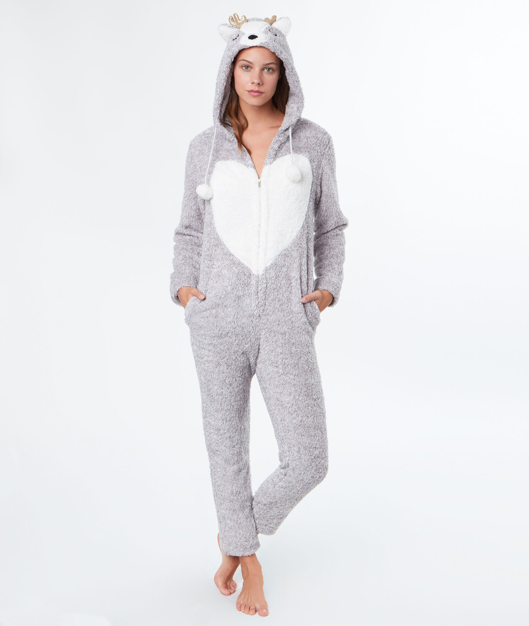 Pyjama combinaison pilou pilou
