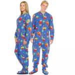 Combinaison pyjama de noel