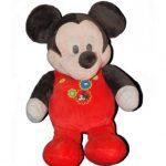 Peluche mickey pyjama rouge