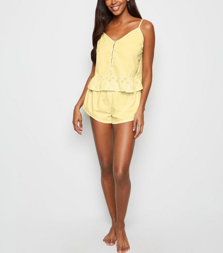 Expérience pyjama jaune