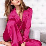 Pyjama femme satin etam