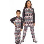 Pyjama fille avec pieds