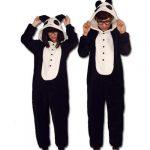 Combinaison pyjama panda