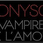 Dionysos vampire en pyjama titres