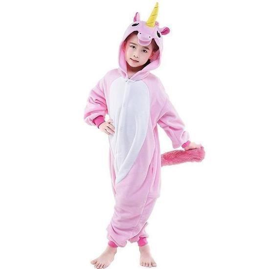 Pyjama grenouillere fille 10 ans