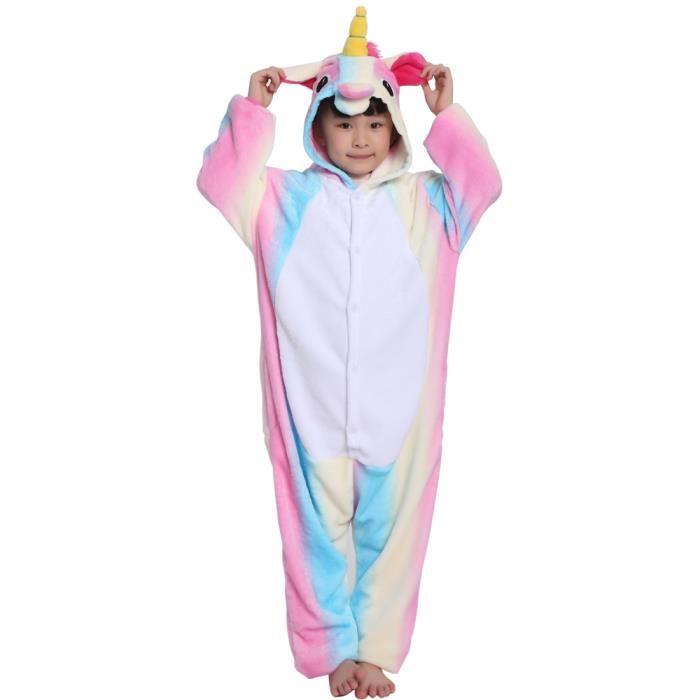 Combinaison pyjama licorne 14 ans