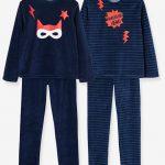 Pyjama en velours garçon