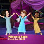 Princesse sofia soirée pyjama