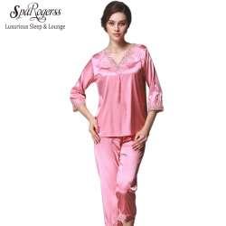 Pyjama en satin femme pas cher