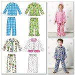 Patron pyjama enfant gratuit