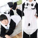Pyjama combinaison enfant panda