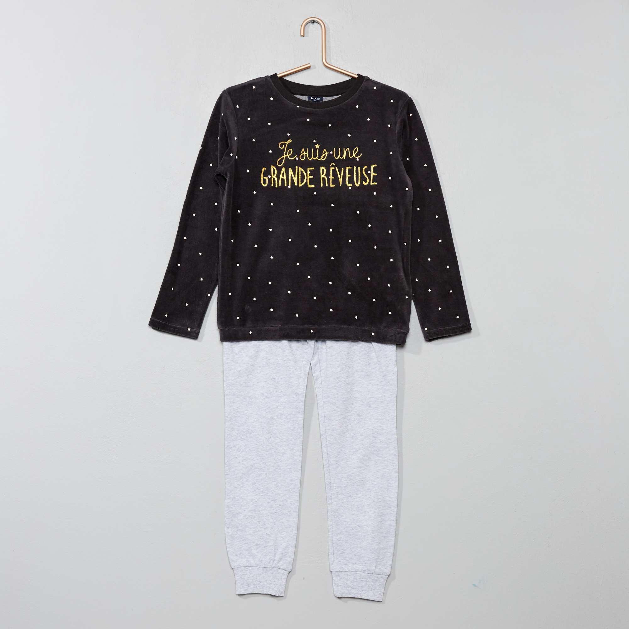 Matière pyjama